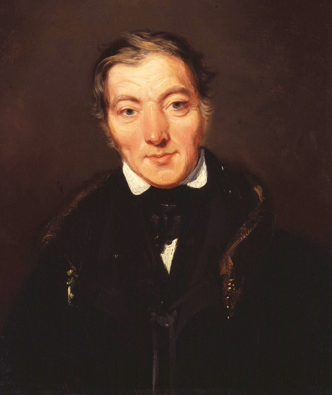 Portrait of Robert Owen