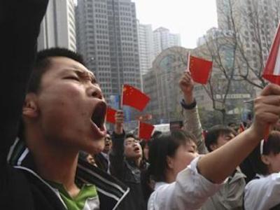 trabajadores enfadados china