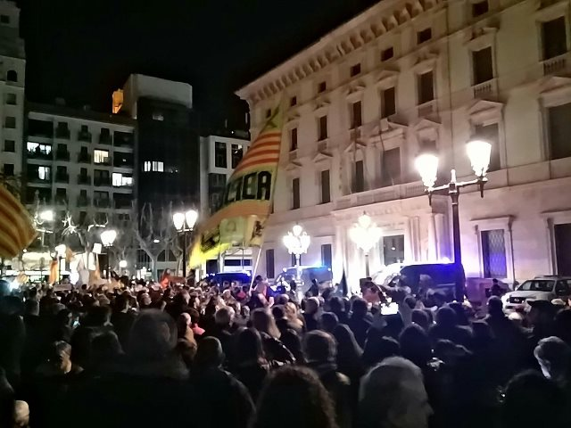 Concentración en Lleida