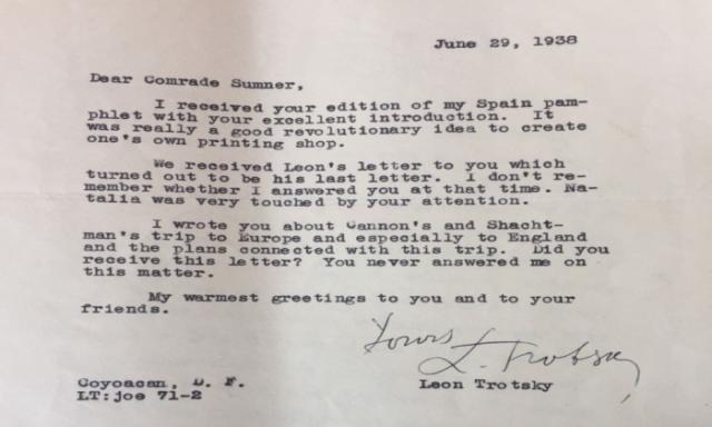 Trotsky Sumner