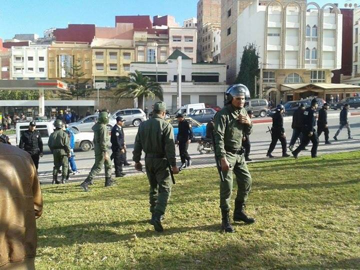 repression revolutionary movement Al Hoceima
